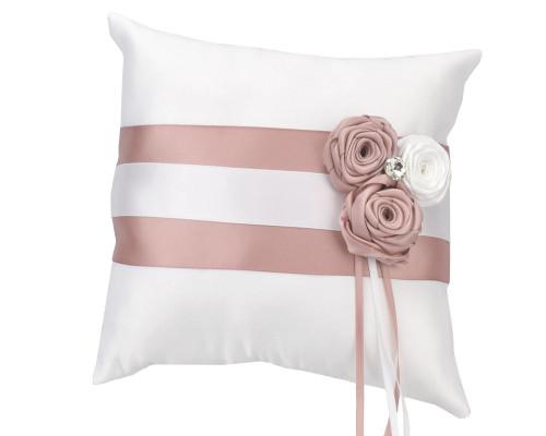 Ringkissen mit Rosen – Farbe wählbar